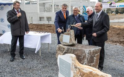 Foundation Stone Ceremony
