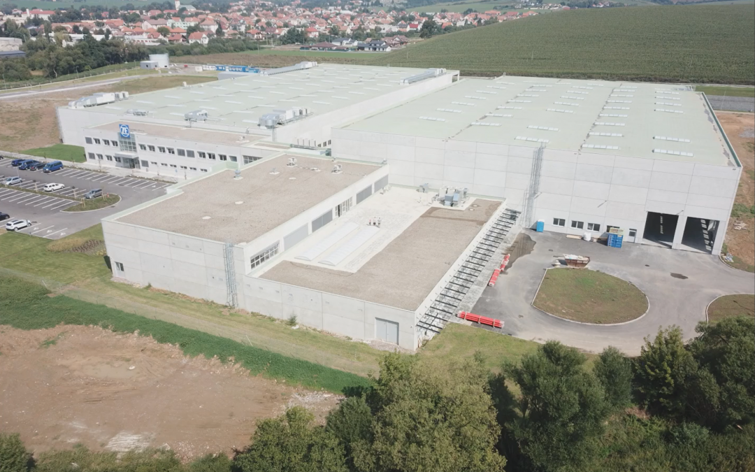 Construction of production halls